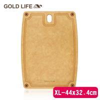 GOLD LIFE 美國原木不吸水抗菌砧板-XL ( 木纖維 / 松木砧板 )