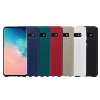 SAMSUNG GALAXY S10 原廠皮革背蓋 (台灣公司貨)