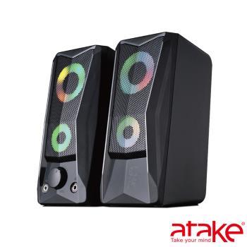 【ATake】- 惡霸桌上型多媒體喇叭X8 F1B-1K-003