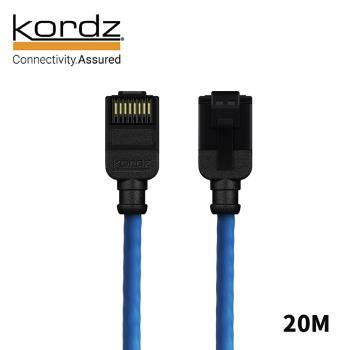 【Kordz】PRO CAT6 28AWG極細高速網路線 / 藍色20米