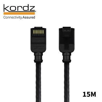 【Kordz】PRO CAT6 28AWG極細高速網路線 / 黑色15米