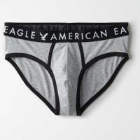 American Eagle 2019男時尚彈力針織灰色三角內著3件組