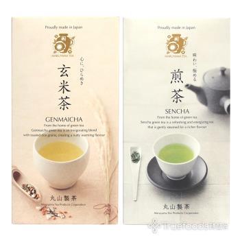 【TRUEFOODS臻盛食】日本靜岡優質煎茶/玄米茶-任選四盒(20包/盒)