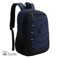 【Lynx】素面輕盈尼龍後背包(可放筆電 可放平板)