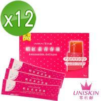 【UNISKIN零机齡】蝦紅素青春凍(14條/盒)*12盒