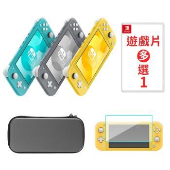 Nintendo Switch Lite主機+包+貼+精選遊戲擇一