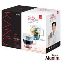 MAXIM麥心 韓國KANU孔劉咖啡美式中焙咖啡100入 贈陶瓷馬克杯(彩繪風限定版)