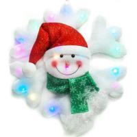 聖誕LED燈25燈雪人雪花造型燈吊飾SCL-50(插電式-自動閃爍變換光色)