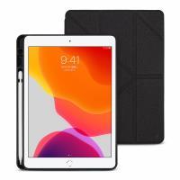 JTLEGEND iPad 2019 Amos 10.2吋 相機快取多角度折疊布紋皮套(含Apple pencil槽)