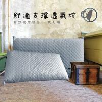 莫菲思 (超值2入)台灣製高支撐好好睡舒適透氣枕