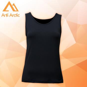 【Anti Arctic】遠紅外線機能衣-女背心-黑 (使用3M吸濕快排原紗)