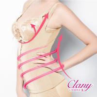 【可蘭霓Clany】560丹重機能雕塑美體M-3XL塑身衣(春漾膚 1925-11)
