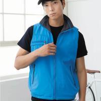 【LEIDOOE】中性款雙面穿背心(22073)藍/灰