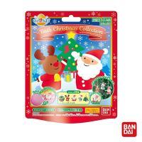 日本Bandai-聖誕節入浴球x5  (內附公仔吊飾 採隨機出貨)