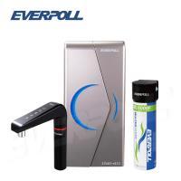 EVERPOLL愛惠浦科技 廚下型雙溫UV觸控飲水機搭配單道雙效複合式淨水器(EVB-298-E+DC-1000)