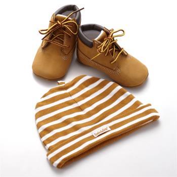 Timberland小麥色BABY小童鞋(彌月禮盒)9589R231