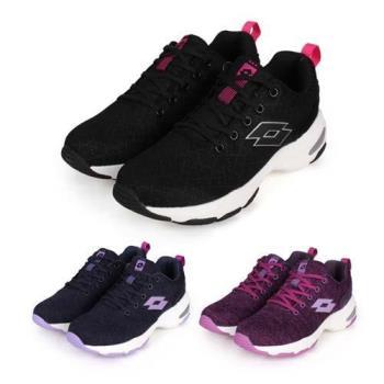 LOTTO 女增高美型 健走鞋-增高鞋 健步鞋 走路鞋 健行