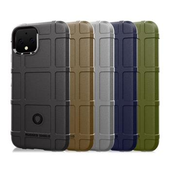 QinD Google Pixel 4 戰術護盾保護套