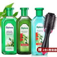 德國Diplona七大植萃洗髮精/頭皮水500ml三入任選+多功能整髮器