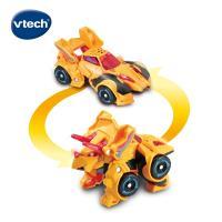 【Vtech】聲光變形恐龍車-三角龍-克拉斯