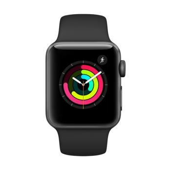 Apple Watch Series 3 GPS,42mm 太空灰色鋁金屬錶殼 型號: MTF32TA/A
