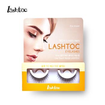 LASHTOC 韓國自黏式假睫毛-可愛纖長型