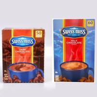 【SWISSMISS】即溶可可粉(60包/盒)+香醇巧克力即溶可可粉(50包/盒)