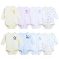 日本熱銷保暖前開扣式空氣棉包屁衣【2件入】-女寶寶