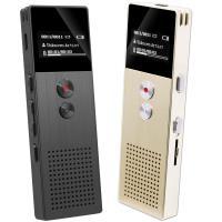 RP-1 髮絲紋鋁合金數位錄音筆 (內建8GB)