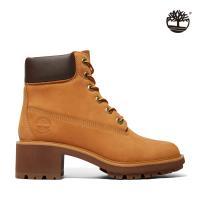 Timberland 女款小麥色Kinsley磨砂革防水靴A25BS231