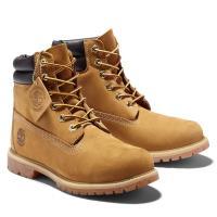 Timberland 女款小麥色Waterville磨砂革雙領6吋靴42687231