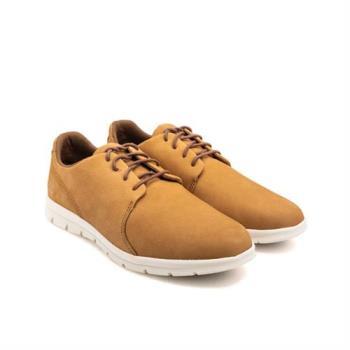 Timberland 男款淺褐色Graydon絨面革牛津鞋A1XGB228