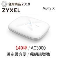 ZYXEL 合勤 AC3000 三頻全覆蓋無線延伸系統 MULTY X 單包裝 WSQ50