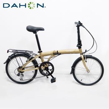 DAHON大行 SUV D6 20吋6速鋁合金折疊單車-霧金