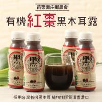 苗栗南庄鄉農會 有機紅棗黑木耳露-12瓶/組