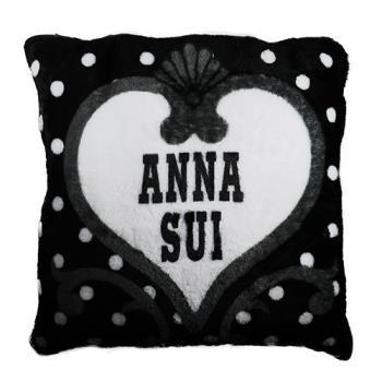 ANNA SUI 安娜蘇 法蘭絨抱枕被