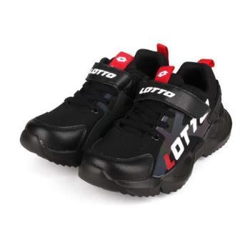 LOTTO 男女中童輕量跑鞋-慢跑 反光 避震