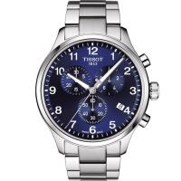TISSOT Chrono XL韻馳系列經典計時男錶(T1166171104701)藍色