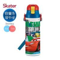 Skater不鏽鋼(580ml)保溫水壺-閃電麥昆AHEAD