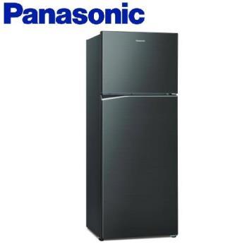 送多功能雙面砧板+6吋陶瓷刀★Panasonic國際牌485公升一級能效雙門變頻冰箱(星耀黑)NR-B480TV-A (庫)