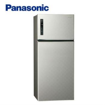 買就送雙面砧板+陶瓷刀★Panasonic國際牌 579公升一級能效二門變頻冰箱(星耀金)NR-B589TV-S1 (庫)