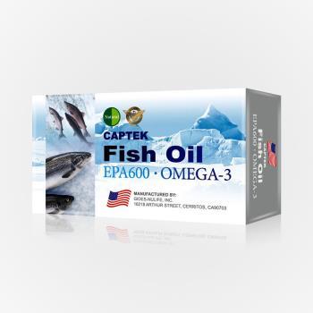 美國Natural D高規EPA600魚油健康清道夫組