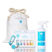 白因子 彌月組合(環境抗菌液500ml*1+肌膚清潔防護液25ml禮盒*1+贈吊飾(隨機)*1及束口袋*1)