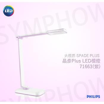 【飛利浦 PHILIPS LIGHTING】SPADE PLUS 晶彥 LED 檯燈-6W (71663)(共兩色)