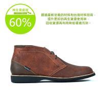 【Dogyball】簡約短靴 輕量化沙漠靴超透氣皮感鞋面環保活動鞋墊 深酒紅色
