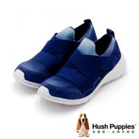 Hush Puppies DIEDE CYPRESS系列 直套式機能健走鞋 女鞋-深藍