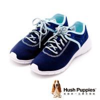 Hush Puppies DIBAYA CYPRESS系列 綁帶機能運動鞋 女鞋-深藍(另有灰)