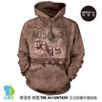 摩達客 (預購) ▶美國The Mountain 拓荒者 環保藝術長袖連帽T恤