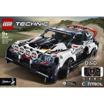 LEGO樂高積木 42109 科技 Technic 系列 App-Controlled Top Gear Rally Car