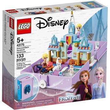 LEGO樂高積木 43175 迪士尼公主系列 Anna and Elsas Storybook Adventures